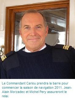 Le Commandant du Belem Yann Cariou