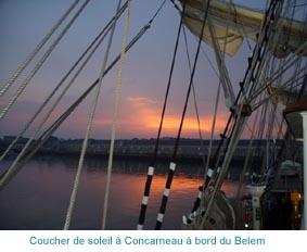 Belem à Concarneau