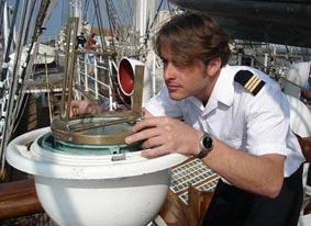 Gabriel, second capitaine du Belem