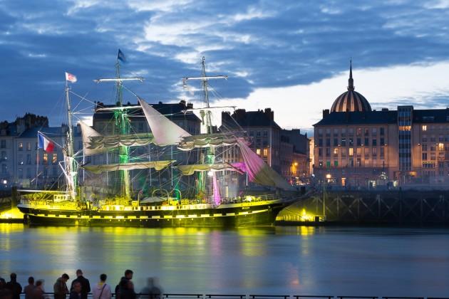 Nantes illumine le belem fondation belem for Le pamir nantes