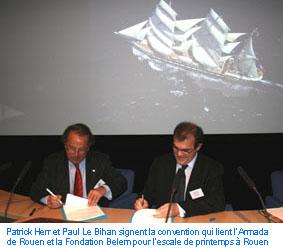 Patrick Herr et Paul Le Bihan
