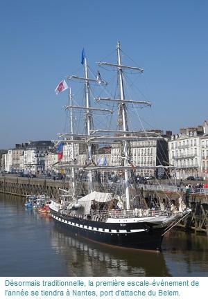 Le Belem à Nantes