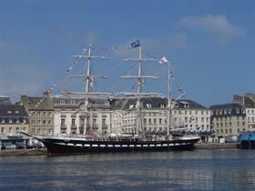 Le Belem à Cherbourg