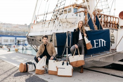 Nouvelle collaboration Belem x 727 Sailbags