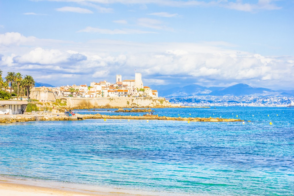 Antibes, Cannes et Nice
